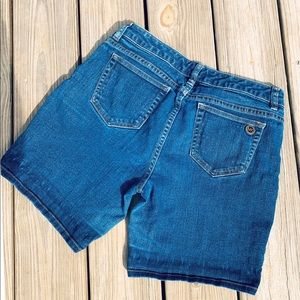 Indigo Denim Shorts by Michael Kors size 4